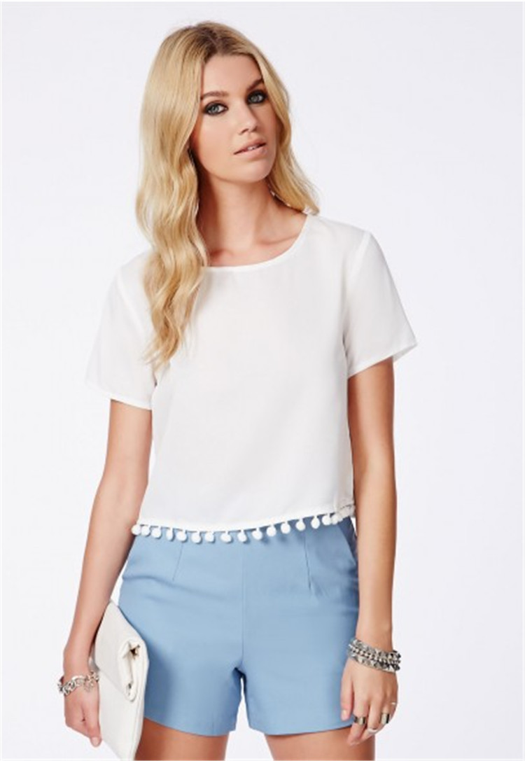 Luxury for the every day women wholesale silk t shirt for Silk white t shirt
