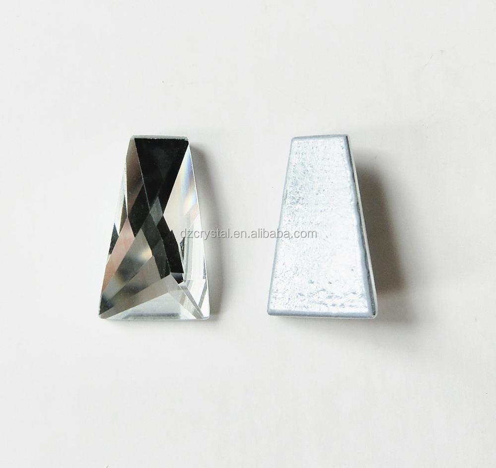 Diamante Me Blue Pearl Ceramic Hotfix//Iron On//Glue On Rhinestones size 3,4,5,6