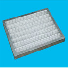 Polypropylene/Polyester/Polyethylene/Polyamide knitted pleated mesh air filters for pre/medium/hepa/ulpa air conditioning