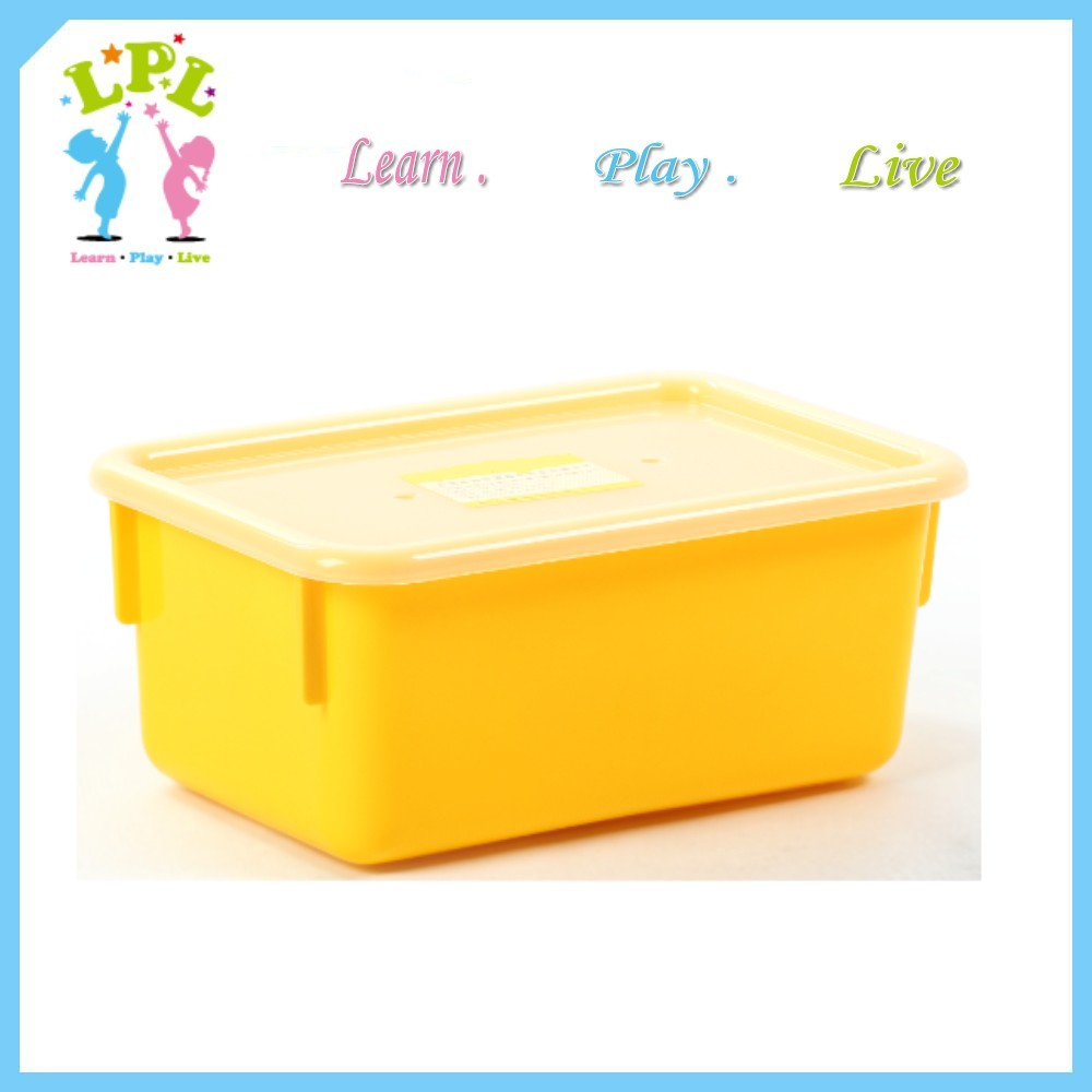 LPL Promotional new PP eco-friendly colorful toy plastic Sand Tote Tray