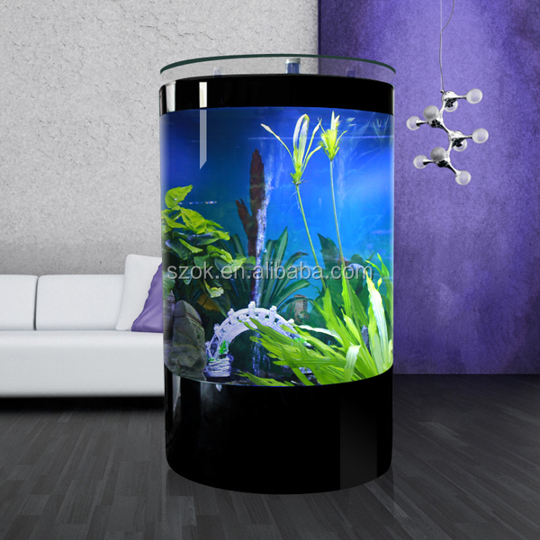 Tell and circular tube acrylic aquarium fish tank buy for How to build an acrylic fish tank