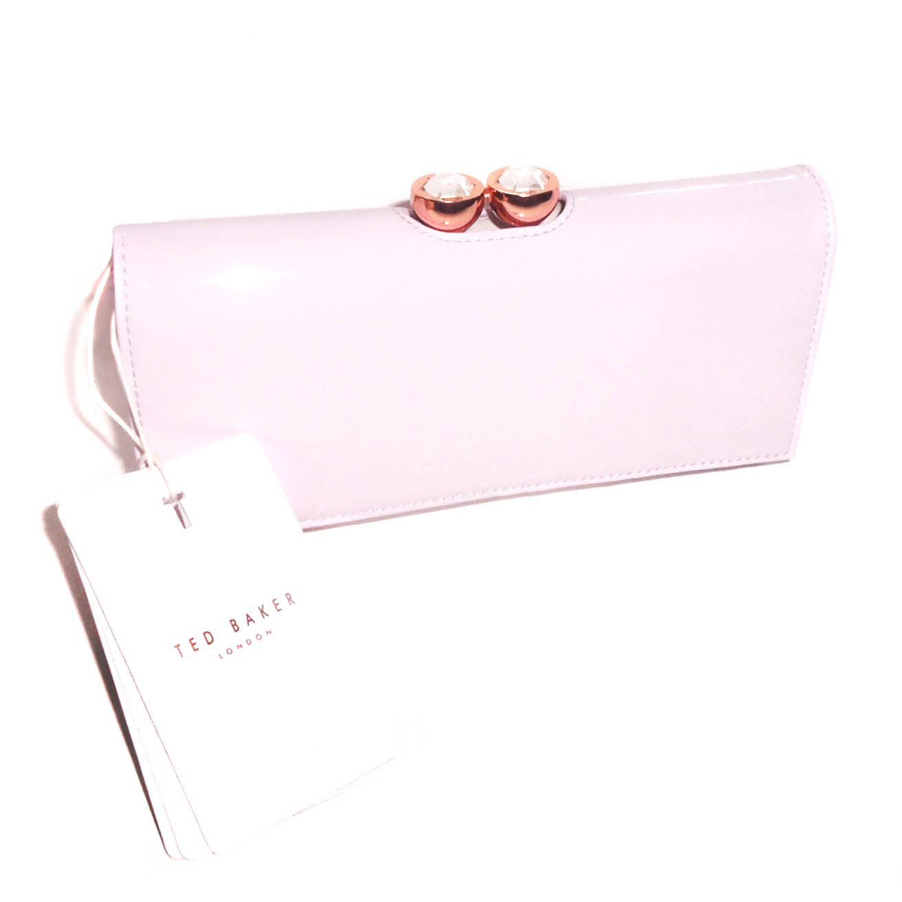 893ba80f0169b Get Quotations · Ted Baker Pink Kassady Bobble Matinee Wallet