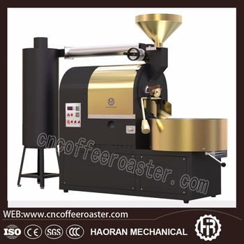 Factory direct sale high quality stainless steel 3kg coffee roaster machine