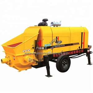 China Manufacturer JIUHE brand Diesel DHBT60 80 concrete pump for sale