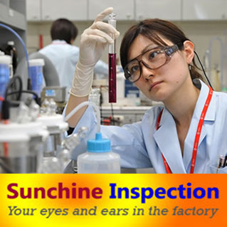 lab testing and quality controling service/chemical products factory inspection in China/quality testing