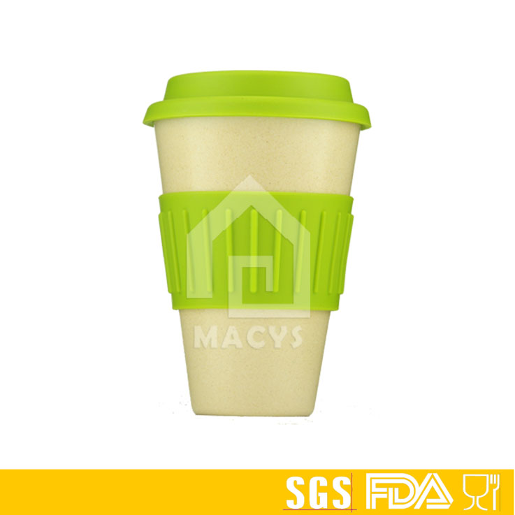 16oz/450ml Bamboo drinking coffee Fiber Eco style Cups