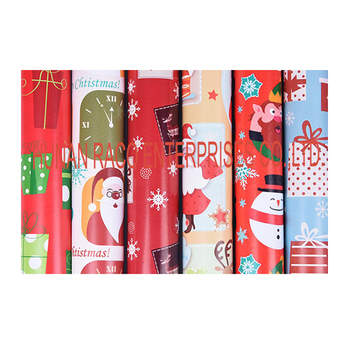 Raco Christmas printed gift wrapping paper cheap gift wrap paper
