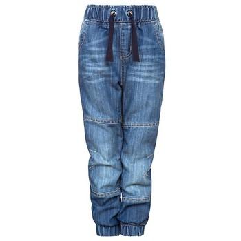 100% Cotton Denim Children Boyu0026#39;s Denim Jogger Jeans Pants / Indigo Kid Boys Denim Jogger Jeans ...