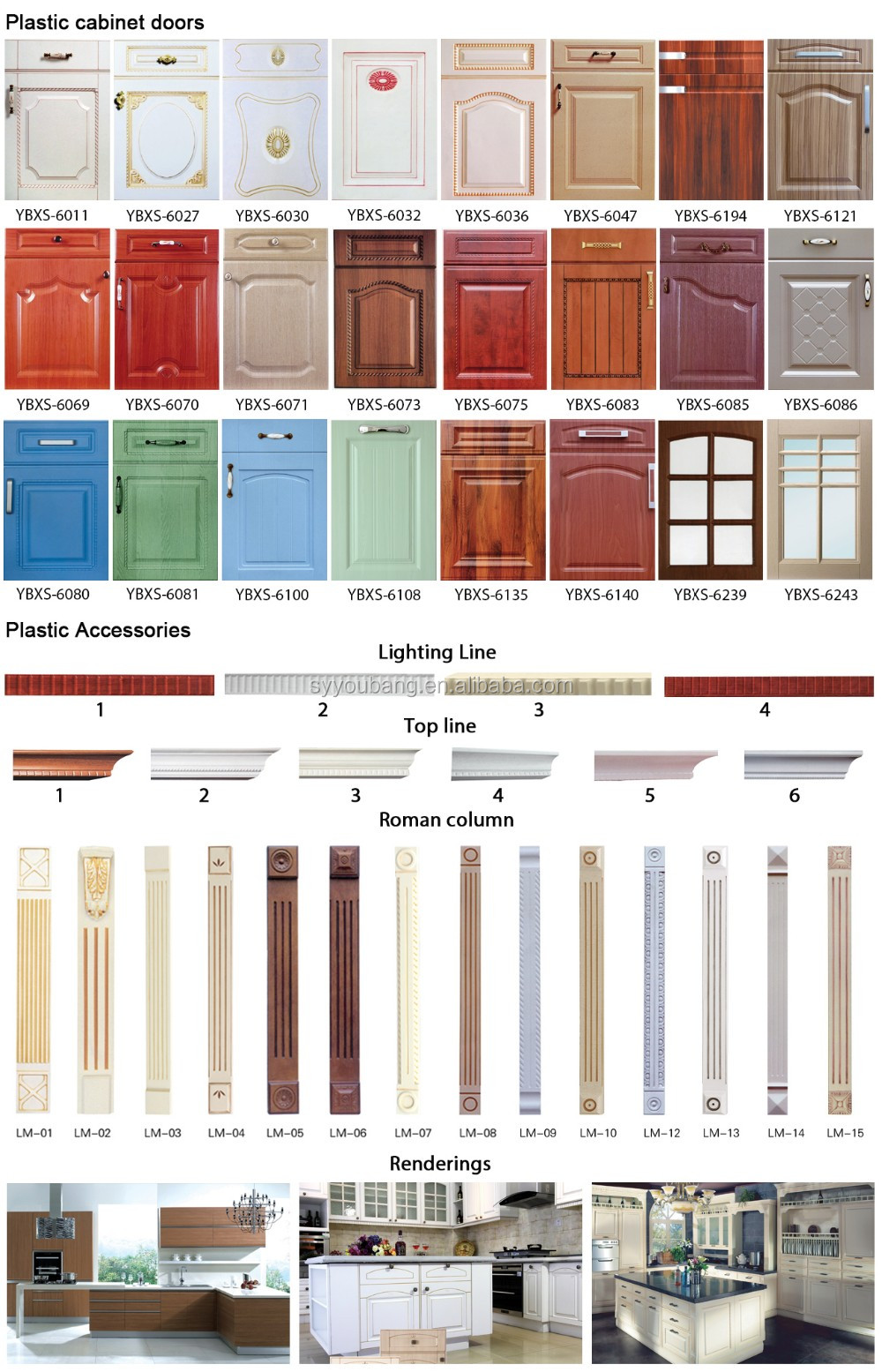 Ready Made Plywood Cabinet Door Kitchen Cabinet Door From Youbang