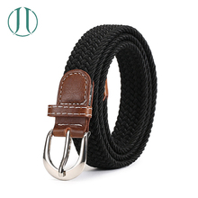Custom High Quality Knitted Elastic Braided Waist Belt