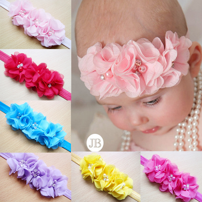 2015 baby tiara hair jewelry flower hair accessories bijoux cheveux hairband kids headbands hair bows H3