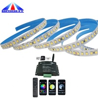 DC24v 8 leds per group cuttable flexible led light strip High light efficiency 160lm/w smd 2835 led strip