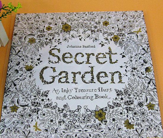 Diy Pen Magic Secret Garden Flower Design Your Own Coloring Book ...