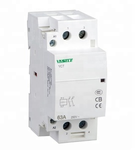 VCT - 63A 2 Pole 2NO / 2NC 220v Single Phase Modular AC Magnetic Contactor
