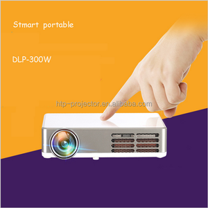 1080P Android FULL HD LED projector mini projector for smartphones with bluetooth / wifi