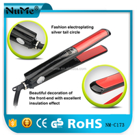 MCH heating element ceramic fast hair straightener suitable for wet and dry hair