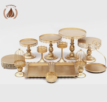 High-grade gold or white cake stand A variety of styles European cake stand