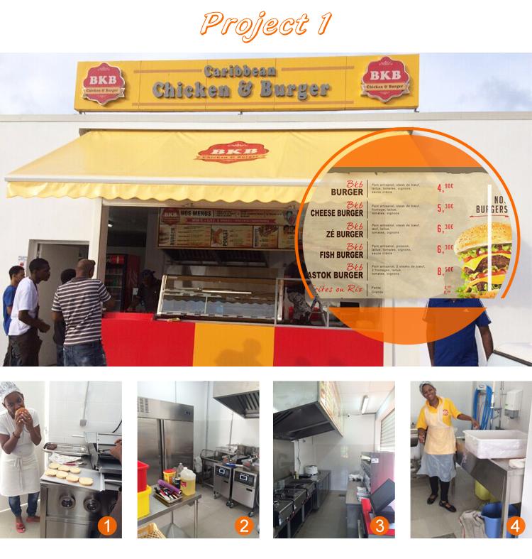 Global Popular Fast Food Chains Kfc Mcdonald S Fast Food Burger Restaurant Kitchen Equipment