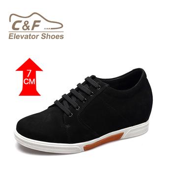 c86d003189dc Boys Stylish Casual Men Hidden High Heel Leather Sneakers - Buy ...