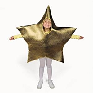 Star Christmas Tree Holiday Child Costume NWT OSFM 4-14 years