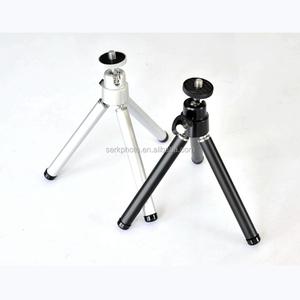 Aluminum Cellphone tripod Light Weight Selfie Stick Mini Camera Tripod