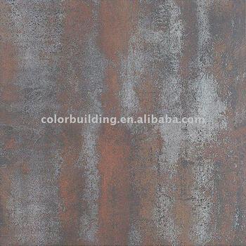 Red Porcelain Metallic Tiles Buy Metallic Tilesmetal Look Tile