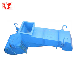GZV series 1000Tons/hour magnetic vibratory feeder for ore convey belt