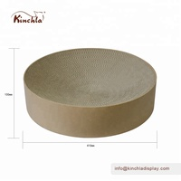 Kinchla Supply Simple Design Rounded Shaped Cat Bed