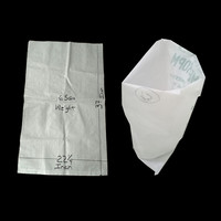 china factory polypropylene bag 50 kg pp woven sacks for wheat flour, sugar, rice, maize flour packaging