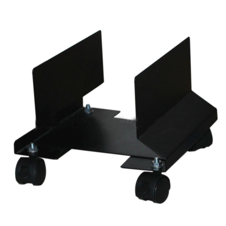 Office Furniture Metal Steel Movable Adjustable CPU Holder With Wheels