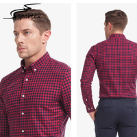 Wholesale Long Sleeve Slim Fit Fashion Design Cotton Mens Dress Shirts