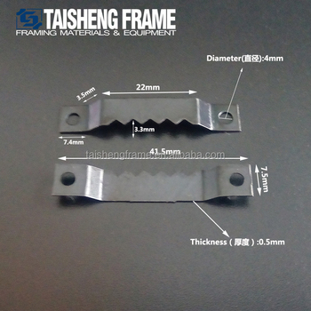 Sheet Metal Stamping Sawtooth Snap Hooks For Picture Frame Buy