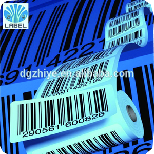 Custom Roll barcode Stickers,adhesive Vinyl Labels,sequential number Barcode Labels