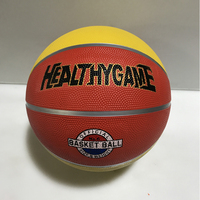 Wholesale Hot Sell Colorful Size 6 Rubber Basketball