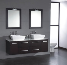 Chinese modern bathroom vanity double sink bathroom vanity