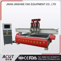 cnc router with atc/automatic tool change spindle cnc/ multi-spindles wood cnc