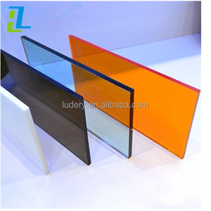 Different colour hardness strength 0.4mm acrylic sheet