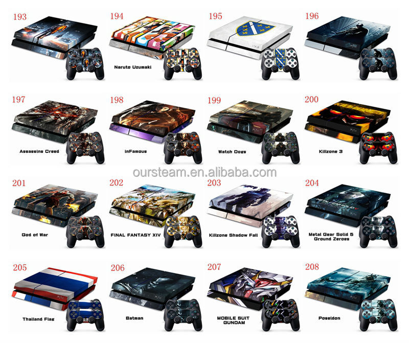 Decal sticker skin set tom raider for ps4 console controller