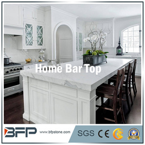 Hot sale high quality commerical white marble island bar tops
