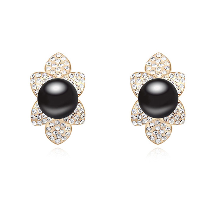 Albaba Gold Ear Tops Designs Daily Wear Pearl Earring Designs ...