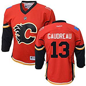 Youth Johnny Gaudreau Calgary Flames Home Jersey