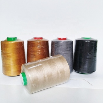 High Quality Wholesale Manufacturer Industrial 20/3 Bobbin Stitching 100% Polyester Cotton Jeans Poly Sewing Thread Spools