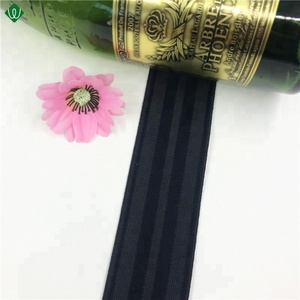 2018 50mm Hot Sell Striped Woven Elastic For Waistband