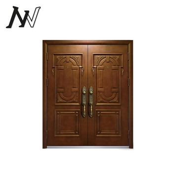 China New Style Wooden Double Door Handles Designs For Houses Images In  Kerala
