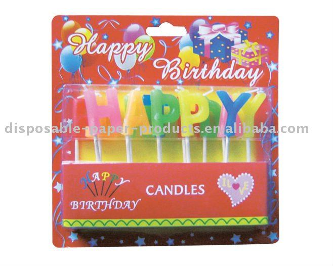 happy birthday letter candles buy happy birthday letter candlescrafts candlesholiday candles product on alibabacom