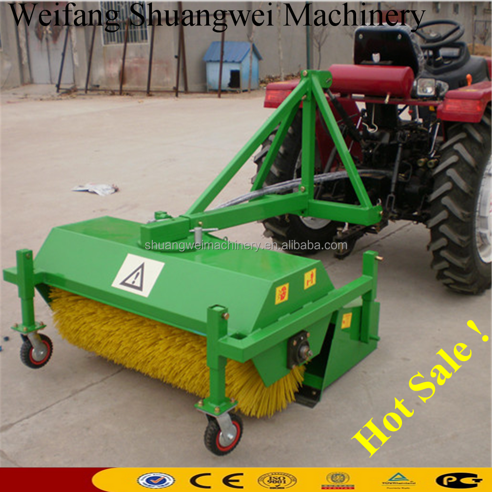 tractor sweeper/road cleaning machine