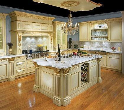 Bisini Di Lusso In Legno Massello Intagliato A Mano Betulla Armadio Da  Cucina/mobili Per La Cucina Americana - Buy Armadio Da Cucina Di ...