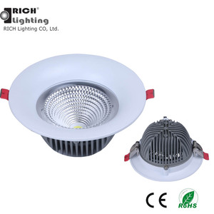 Aluminum Heat Sink 7W/20W/30W/40W Cob Led Spotlight