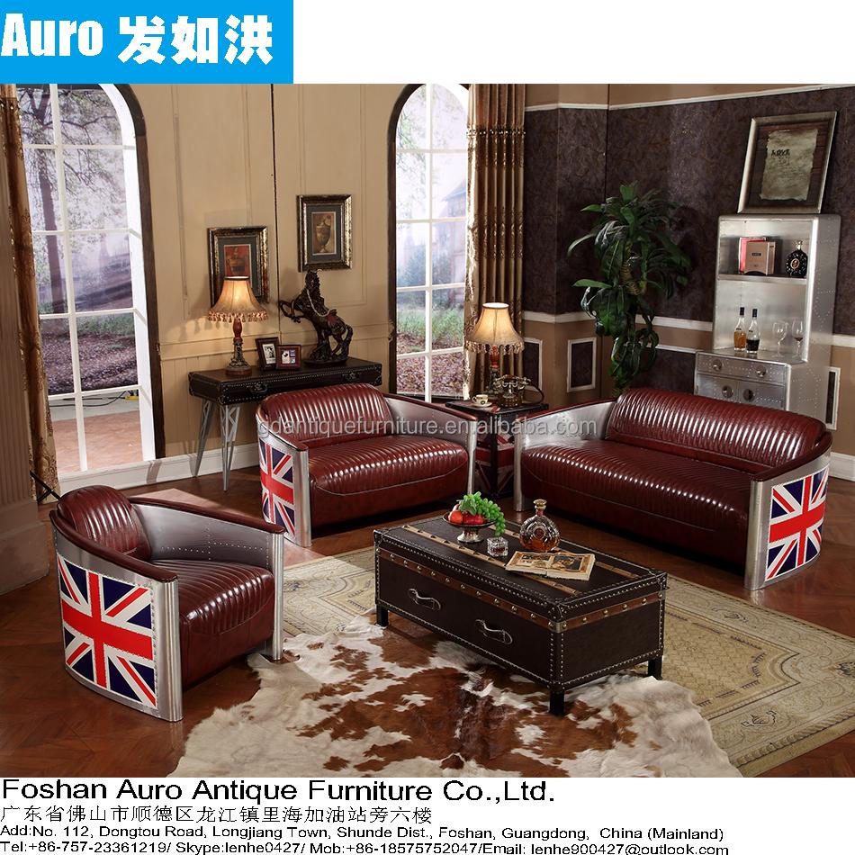 Indio aviador seccional sofá muebles de sala B013-Sofás para la Sala ...