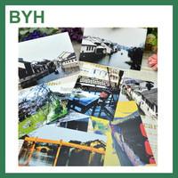 New Design Luxury Printed Paper Greeting Postcard Wholesale